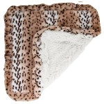 Blanket- Snow White and Aspen Snow Leopard