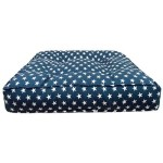 Sicilian Rectangle Bed Star Banner