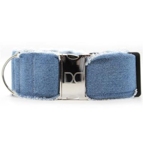 Blue Jean Baby Extra Wide Dog Collar