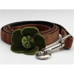 Camellia Velvet Collection - Olive Step In Harnesses All Metal Buckles