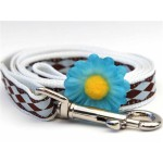Geber Daisy Blue Collection - Step In Harnesses All Metal Buckles