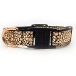 Monty Metallic Rose Gold Cat Collar