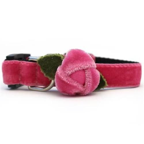 Rosebud Pink Cat Collar