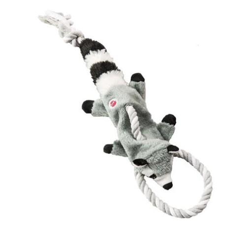Ethical Skinneeez Tugs Raccoon Mini 14in