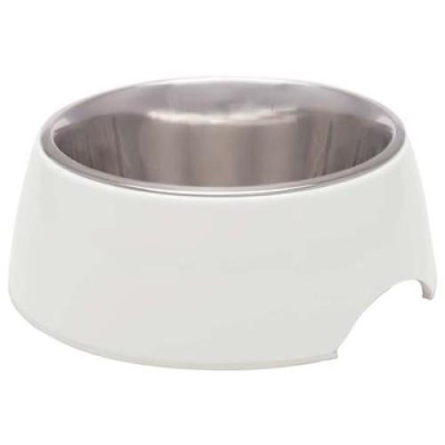 Loving Pet Retro Bowl Ice White Medium
