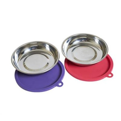 Messy Mutts Cat Bowl Lid 1.75 Cup Set 2 Pack