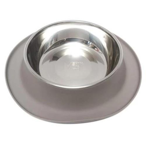 Messy Mutts Dog Feeder Grey 6 Cup