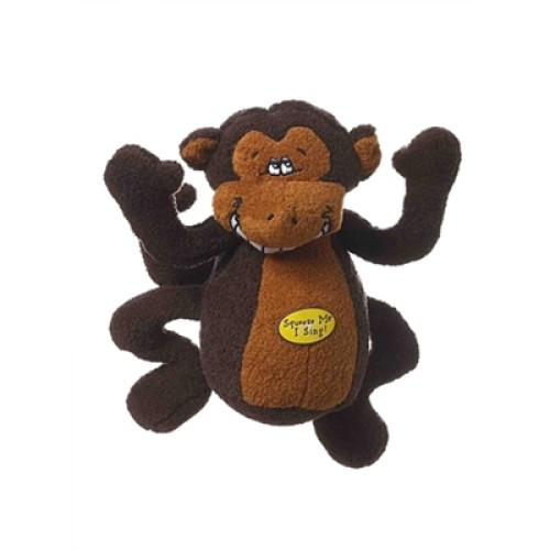 "Multipet Deedle Dudes Monkey 8"""