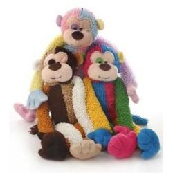 "Multipet Multicrew Monkey (Assorted Colors) 17"""