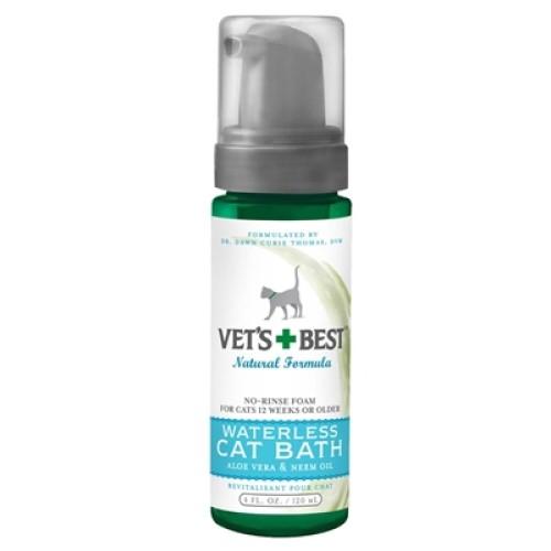 Veterinarian's Best Waterless Cat Bath 4oz
